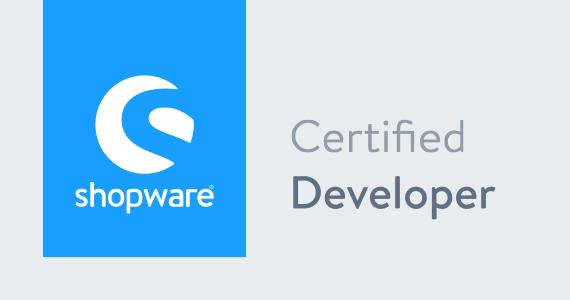 Certified Shopware Developer
