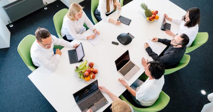 Meeting in Shopware Agentur